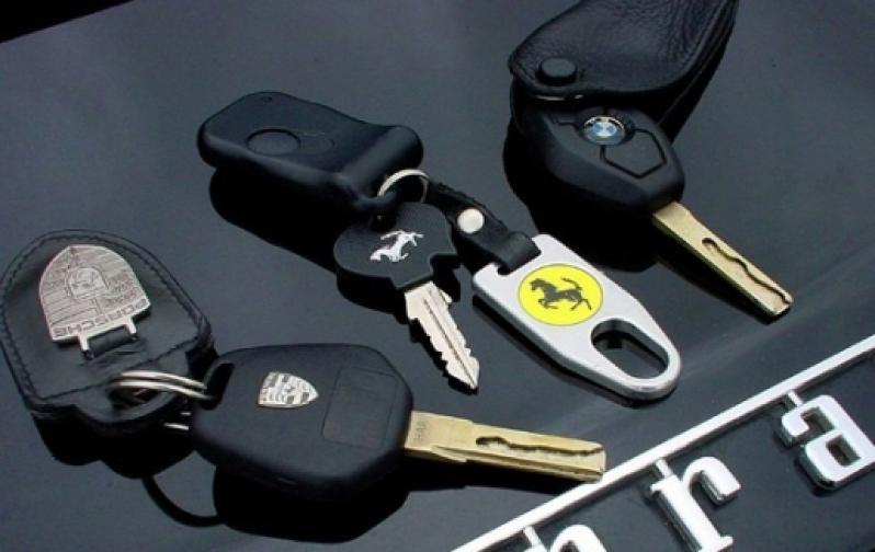 Chave Codificada em Carro Capão Raso - Chave para Carro Codificada