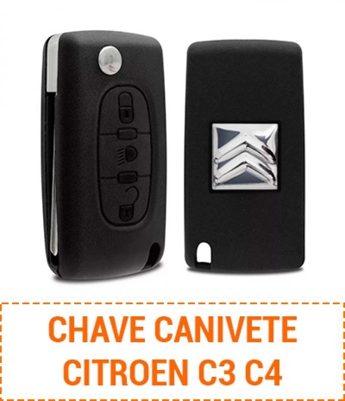 Orçamento para Chave Citroen C3 Codificada Campo de Santana - Cópia Chave Codificada